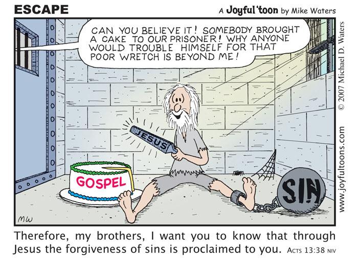 Escape - Acts 13:38